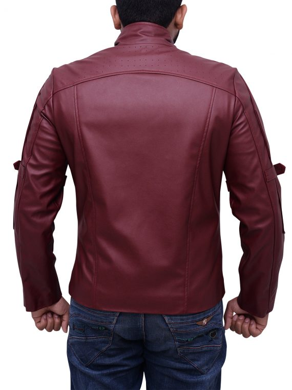 Chris Pratt Guardians Of The Galaxy Leather Jacket