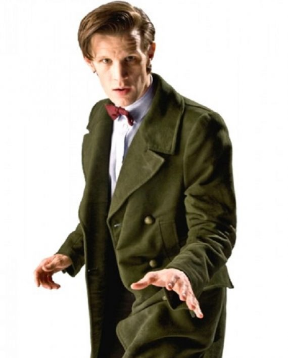 Eleventh Doctor Who Matt Smith Coat