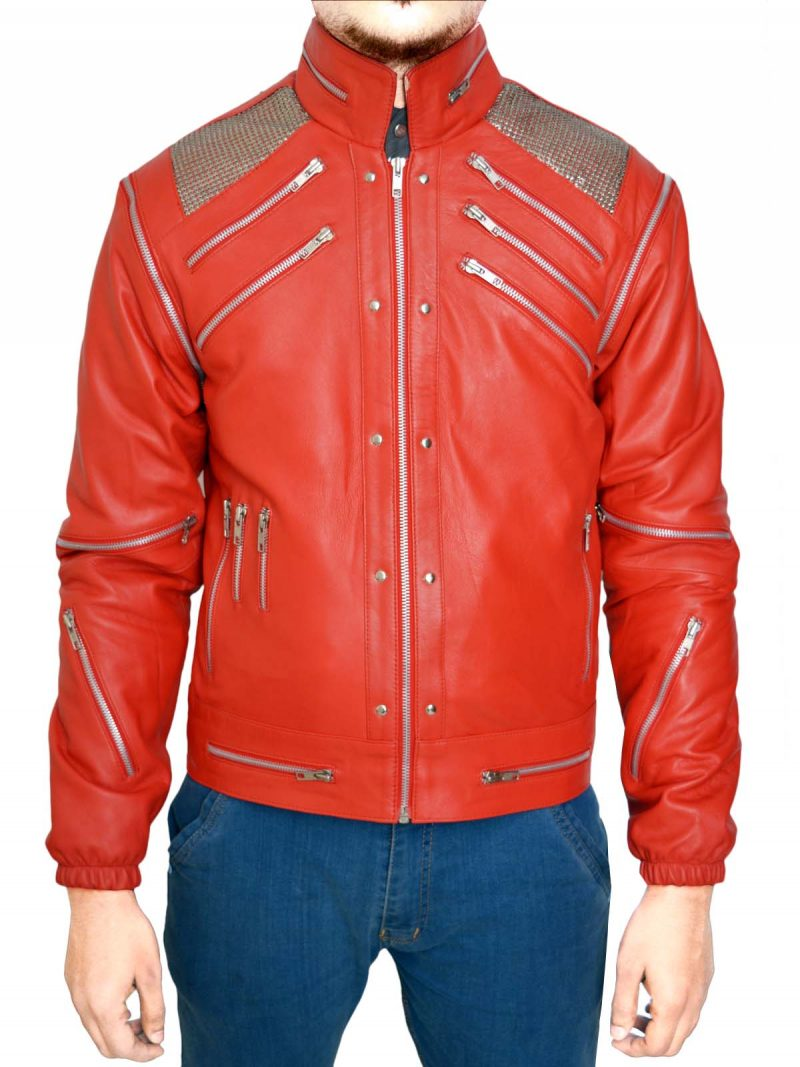 Michael Jackson Beatit Red Jacket