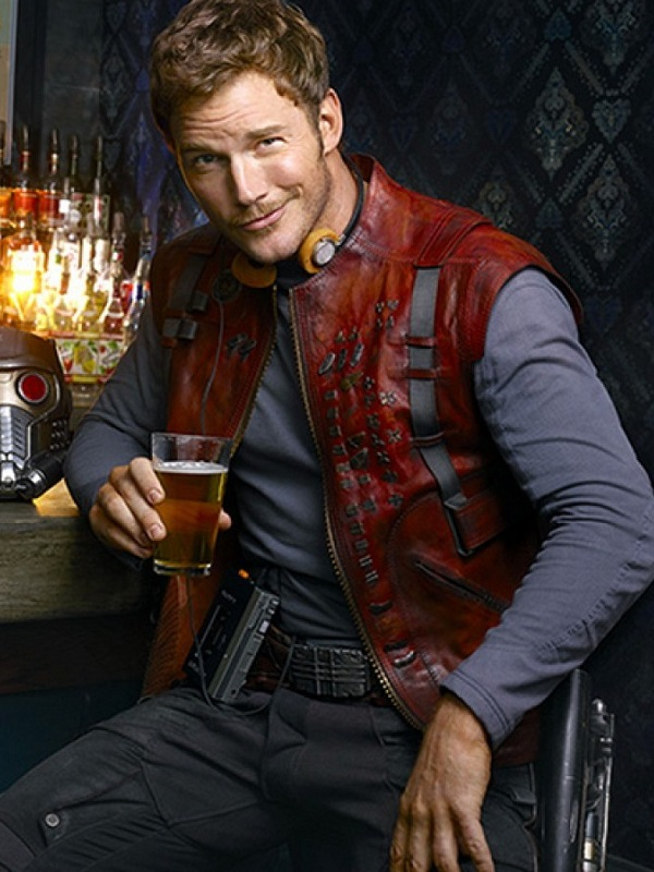 Peter Quill Leather Vest