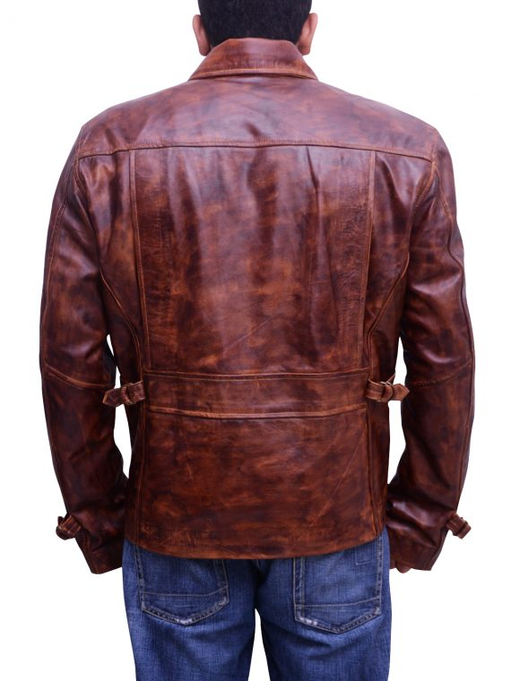 Steve Rogers Captain America Brown Leather Jacket