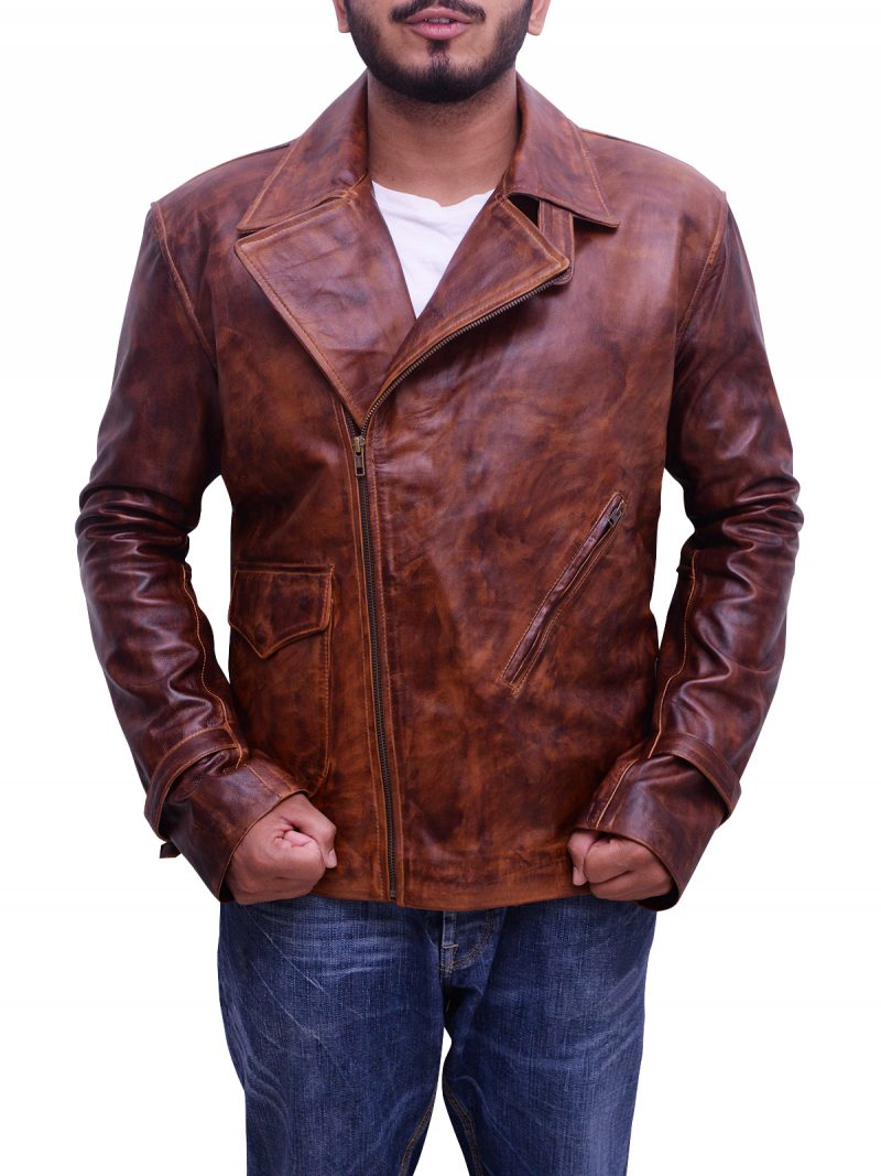 Steve Rogers Captain America Leather Jacket