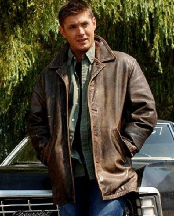 Supernatural Jensen Ackles Dean Winchester Leather Jacket