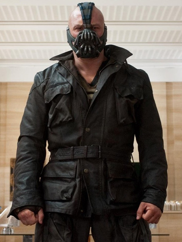 The Dark Knight Rises Black Bane Jacket