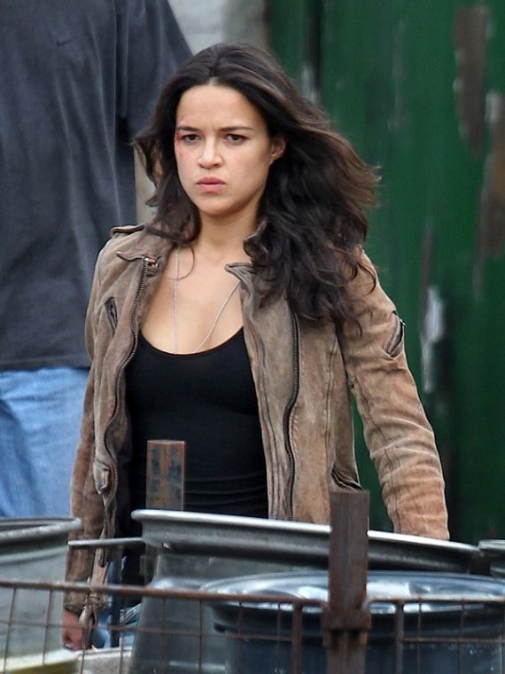 Letty Ortiz Furious 7 Leather Jacket