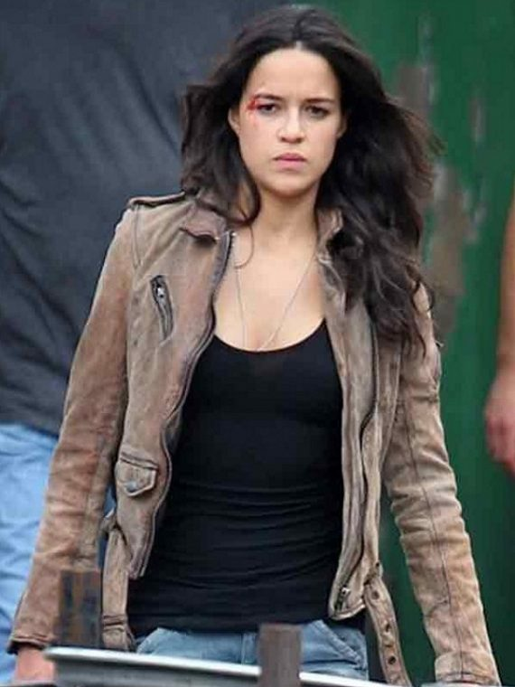 Letty Fast And Furious 7 Michelle Rodriguez Jacket