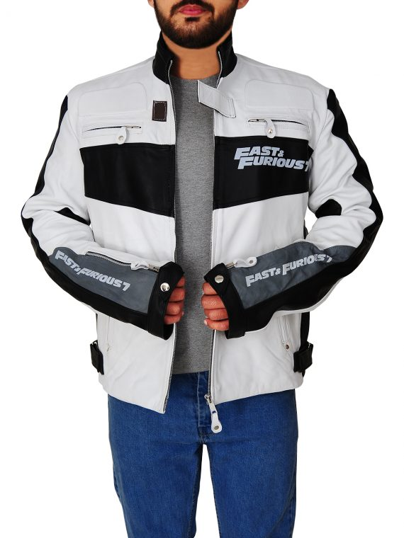 Vin Diesel Fast And Furious 7 Jacket,