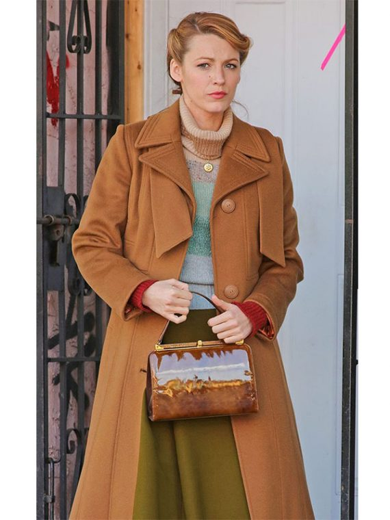 Adaline Couture Long Brown Coat