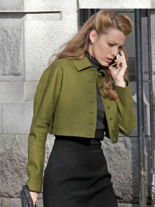 Adaline Sleek Green Jacket