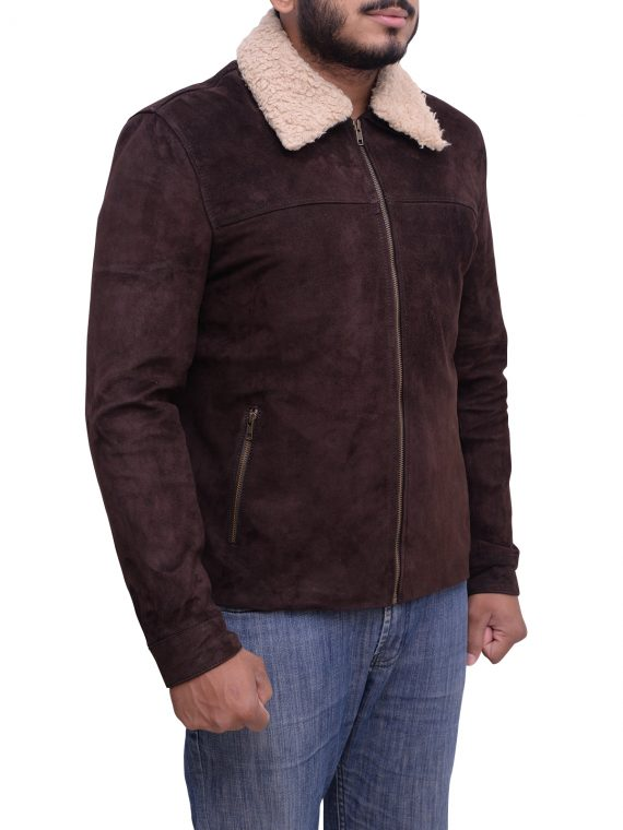 Andrew Lincoln The Walking Dead Suede Jacket