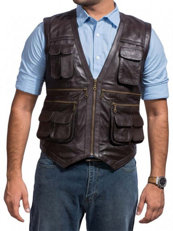 Chris Pratt Brown Vest