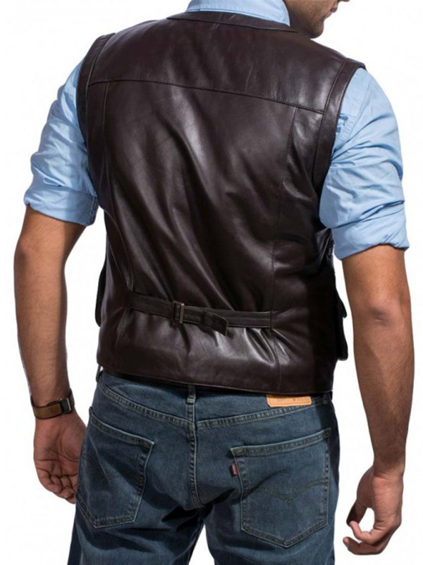 Chris Pratt Jurassic World Brown Vest