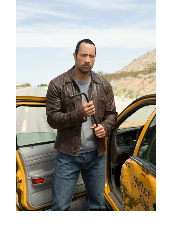 Dwayne Johnson Race to Witch Mountain Jack Bruno Jacket