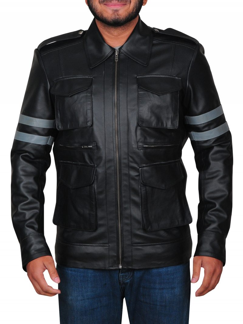 Leon Kennedy Resident Evil 6 Leather Jacket