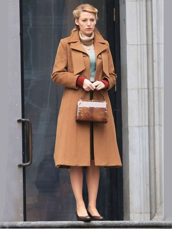 Long Brown Coat From Adaline Couture