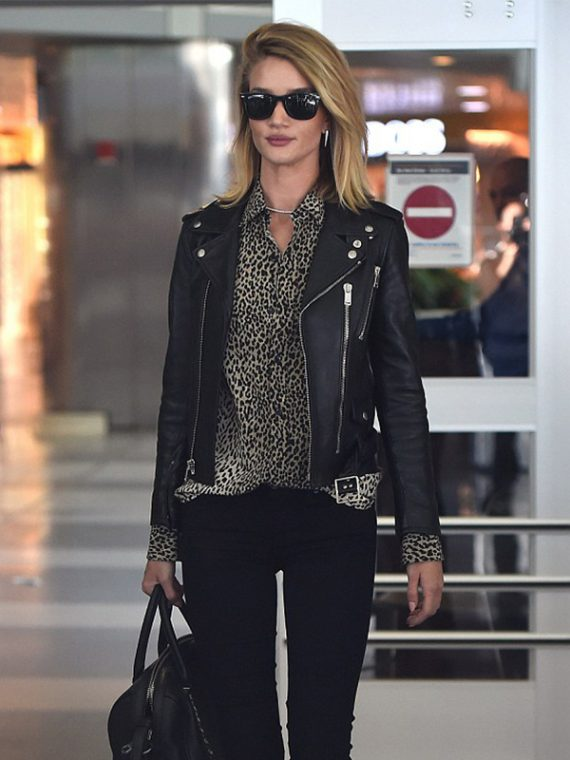 Rosie Huntington Impressive Jacket