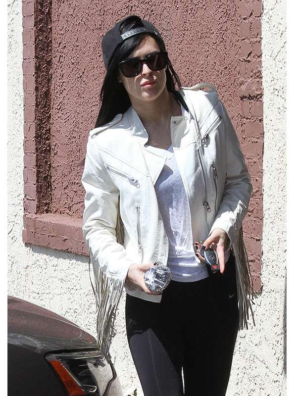 Rumer Willis Exclusive Jacket