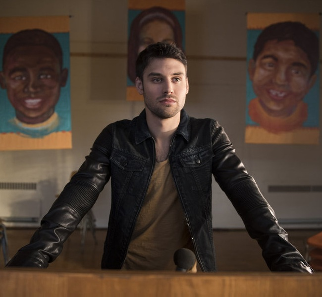 Ryan Guzman Black Leather Jacket