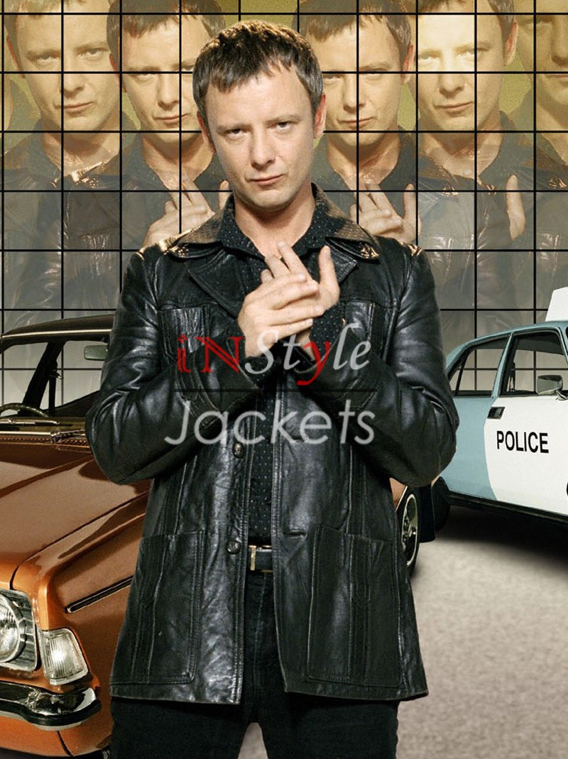 TV Series Life On Mars Leather Jacket