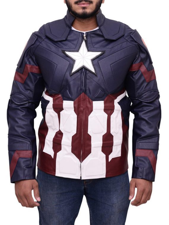 Age Of Ultron Captain America Jacket