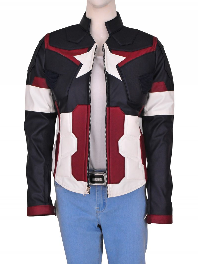 Captain America Jacket For Women