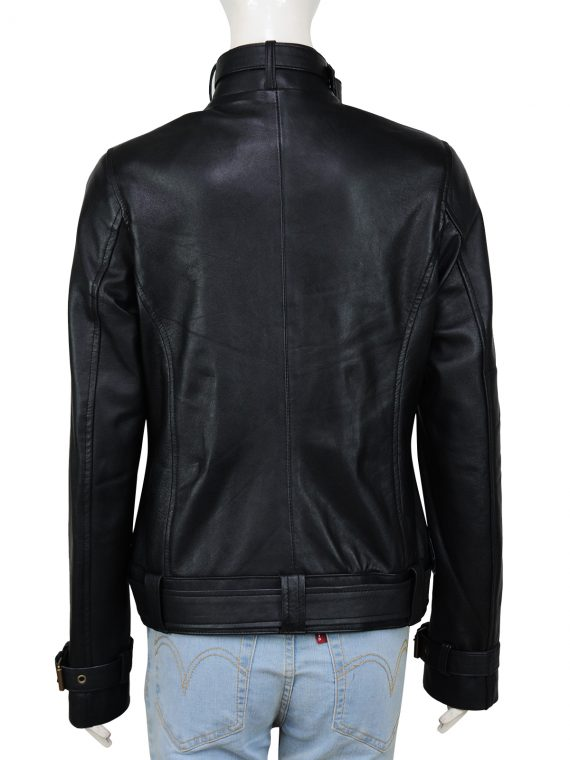 Captain America The Winter Soldier Black Widow Chic Jacket