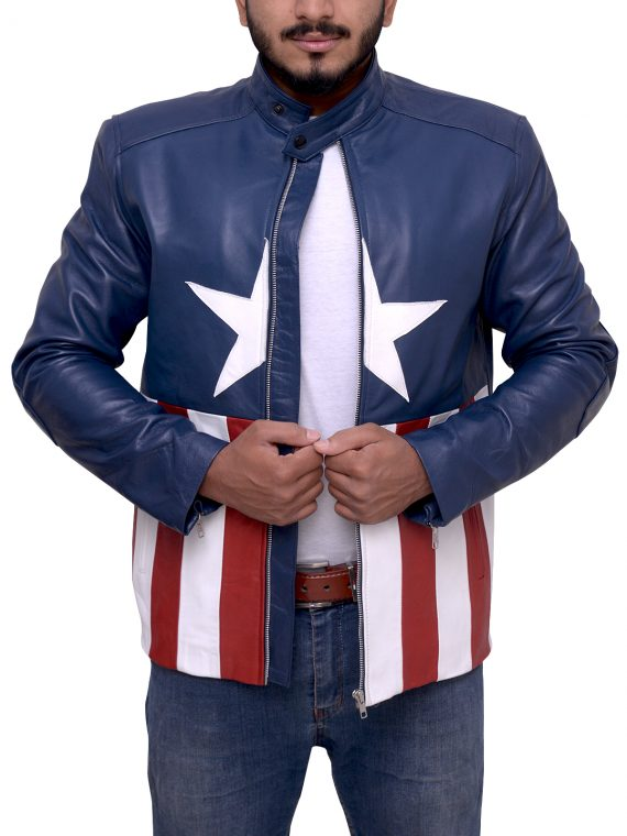 Concert Captain America Style Jacket