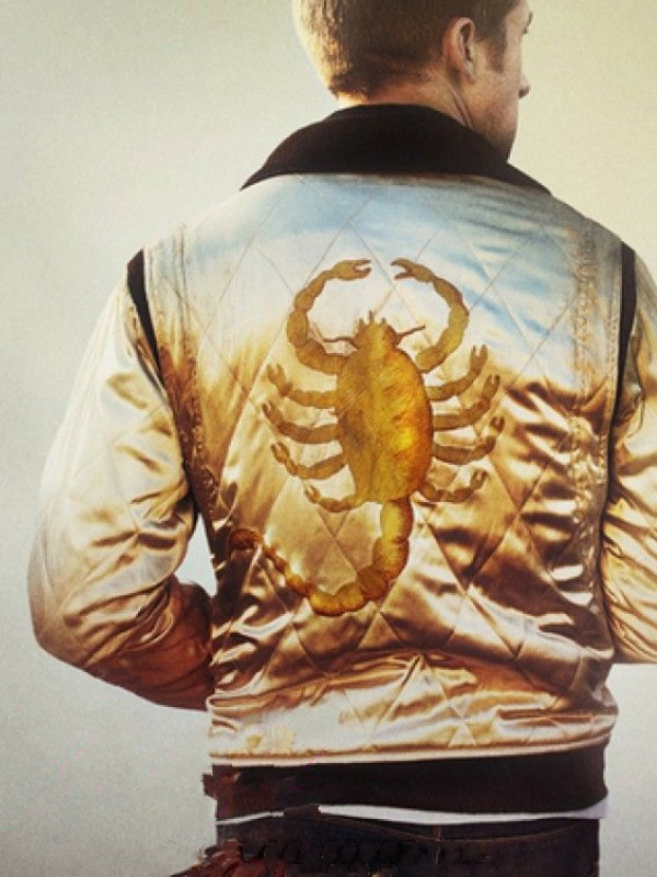 Film Drive Scorpion Ryan Gosling Satin Jacket