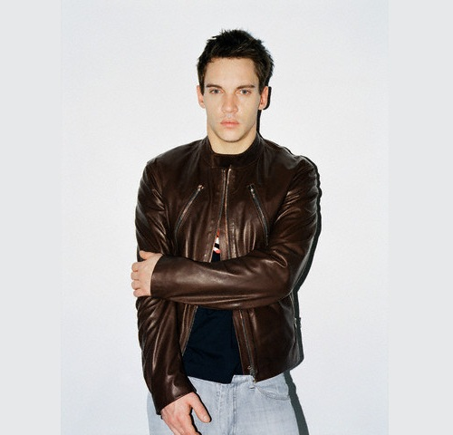 Jonathan Rhys Meyers Brown Jacket