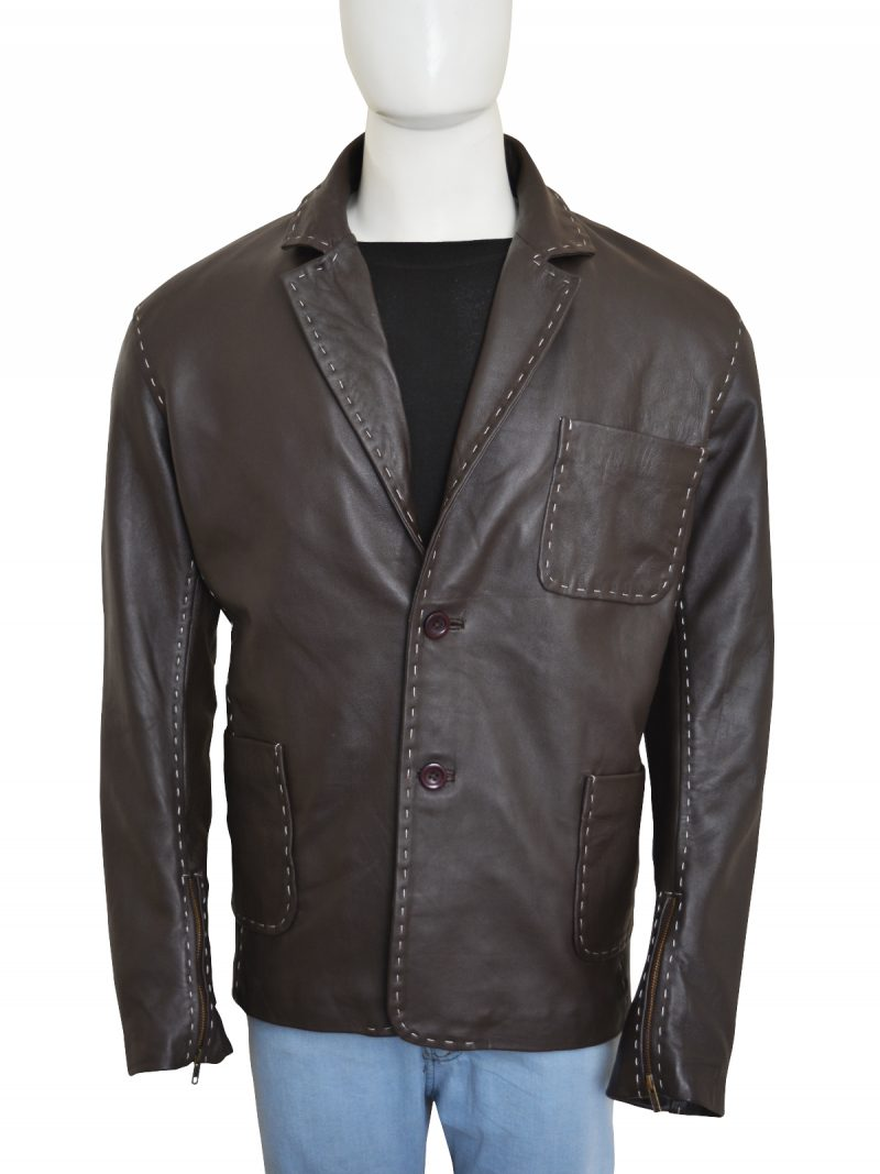 Jason Statham Furious 7 Leather Jacket