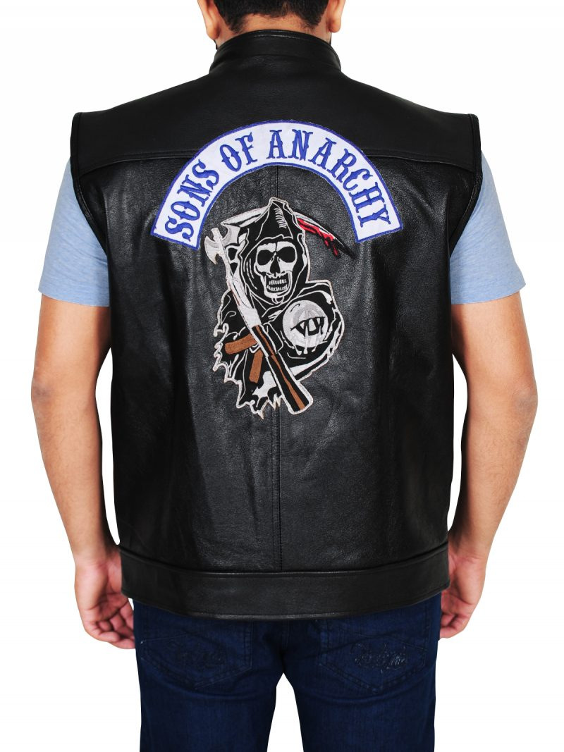 Jax Teller Sons Of Anarchy Biker Vest