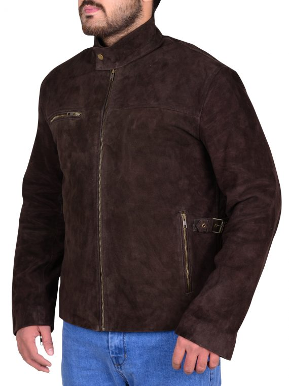 Mission Impossible Tom Cruise Suede Jacket