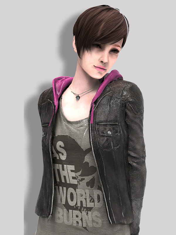 Moira Burton Dark Grey Jacket From Revelations 2 Jacket