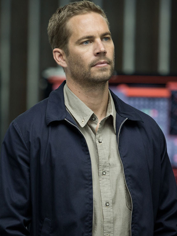 Paul Walker Jacket, Fast and Furious, Blue Jackets,