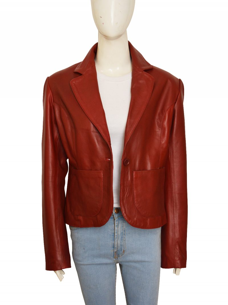 Resident Evil 2 Leather Jacket