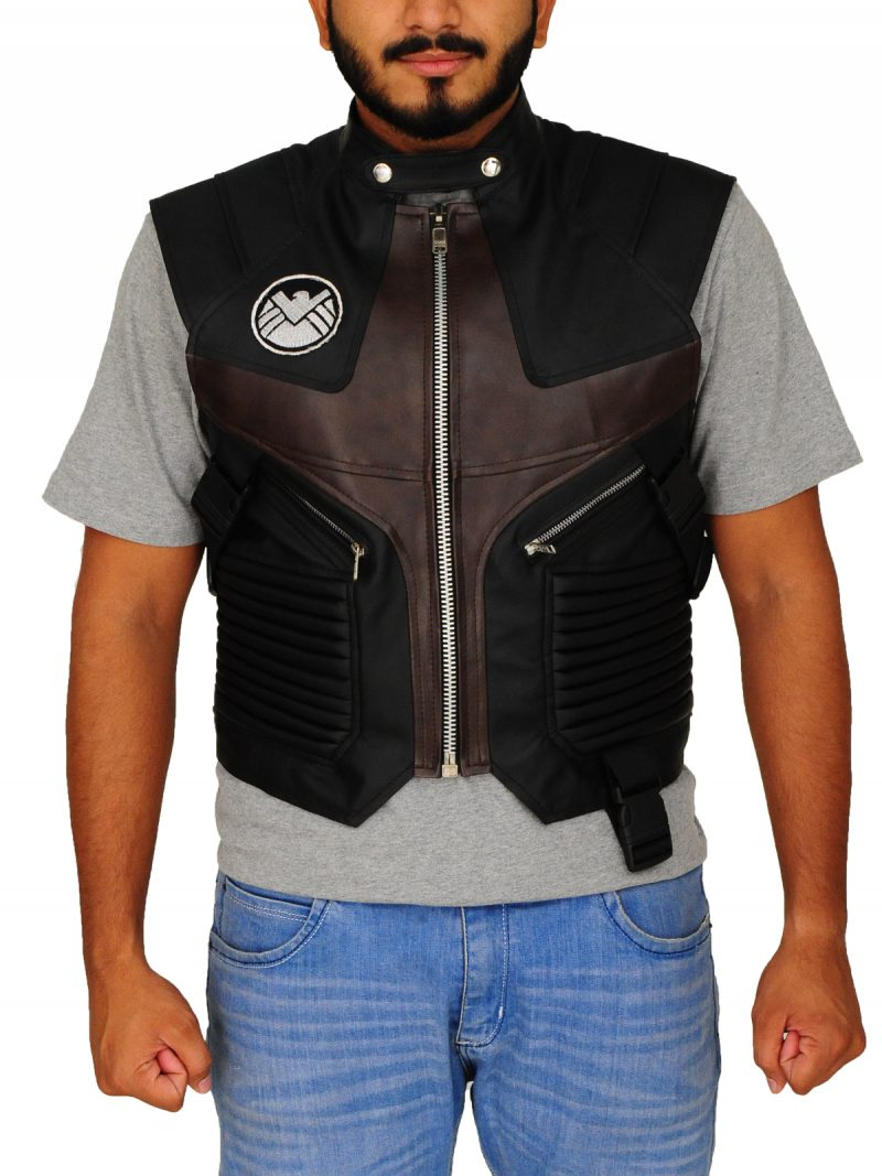The Avengers Hawkeye Brown Vest by Jeremy Renner,