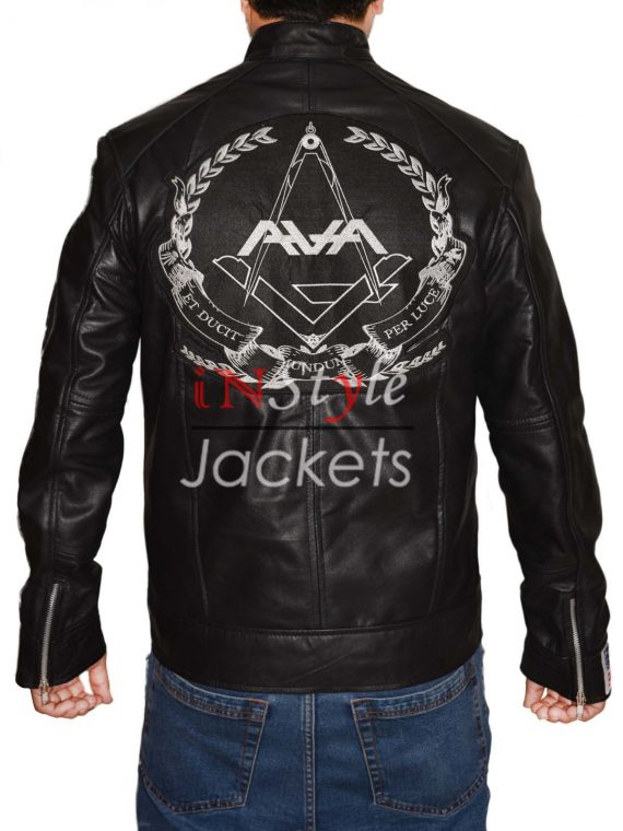 Tom Delonge Love Black Leather Jacket