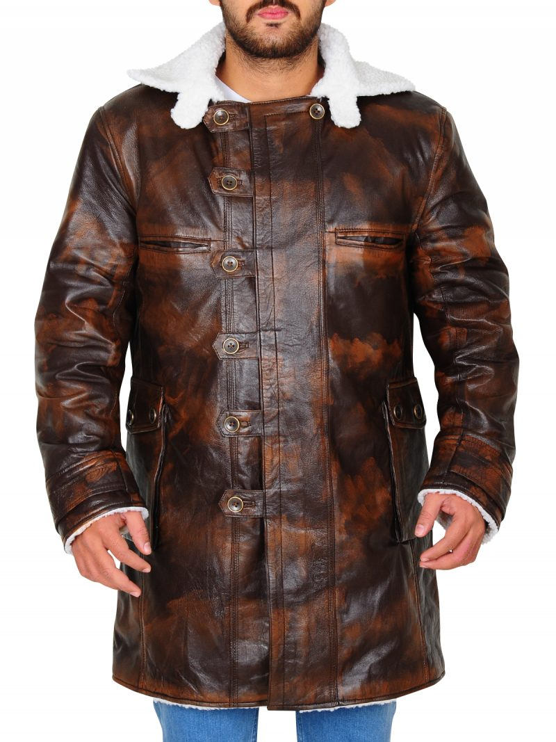 Tom Hardy Bane Leather Coat