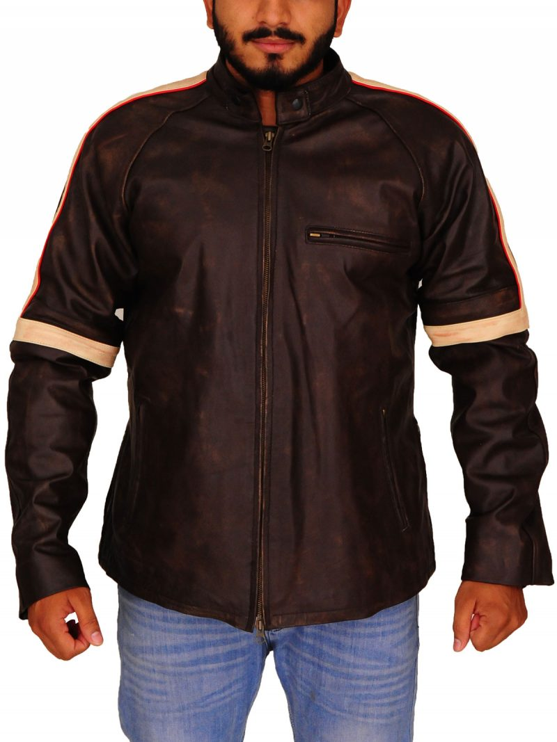 War Of The Worlds Tom Cruise Brown Leather Jacket