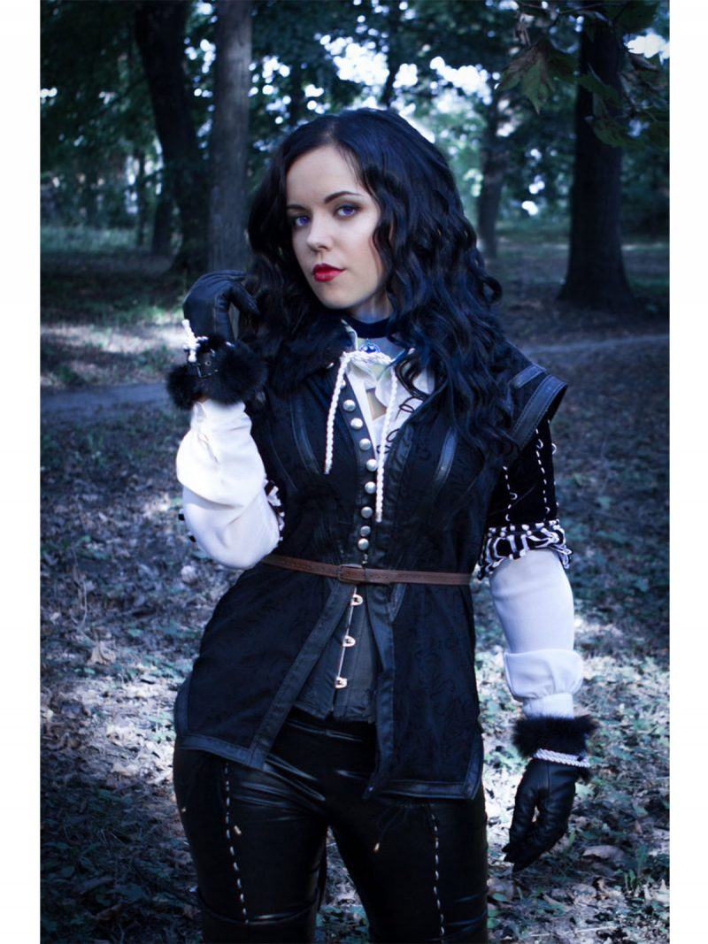 Witcher 3 Wild Hunt Yennefer Jacket