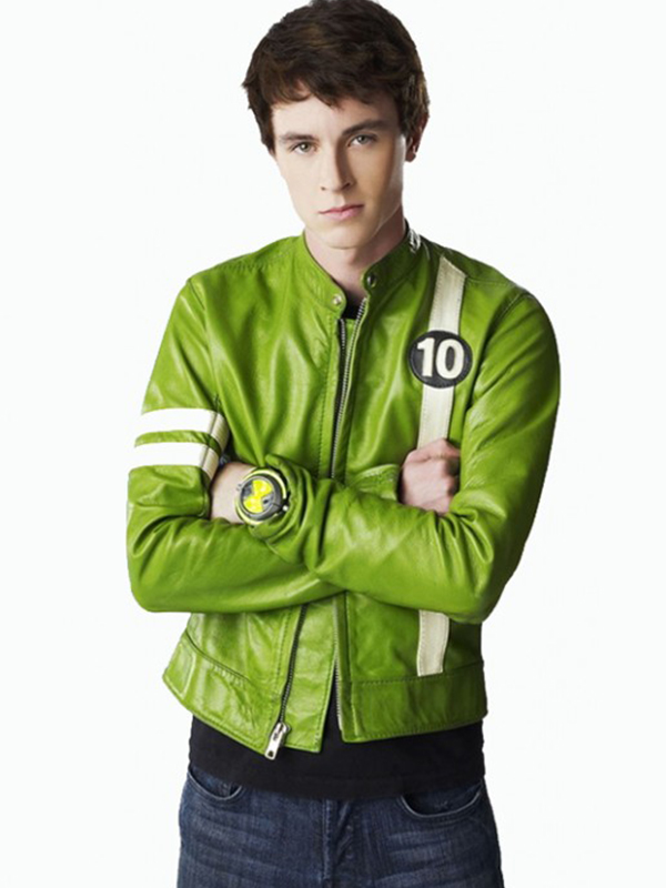 Ryan Kelley, Ben 10, Green Jacket,