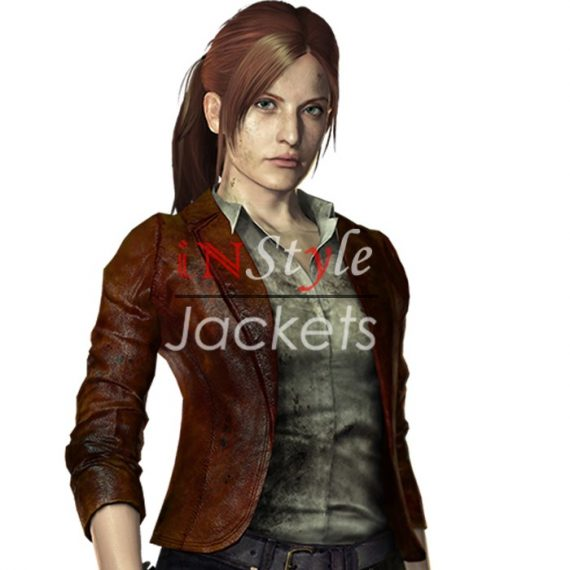 Claire Redfield Revelations 2 jacket