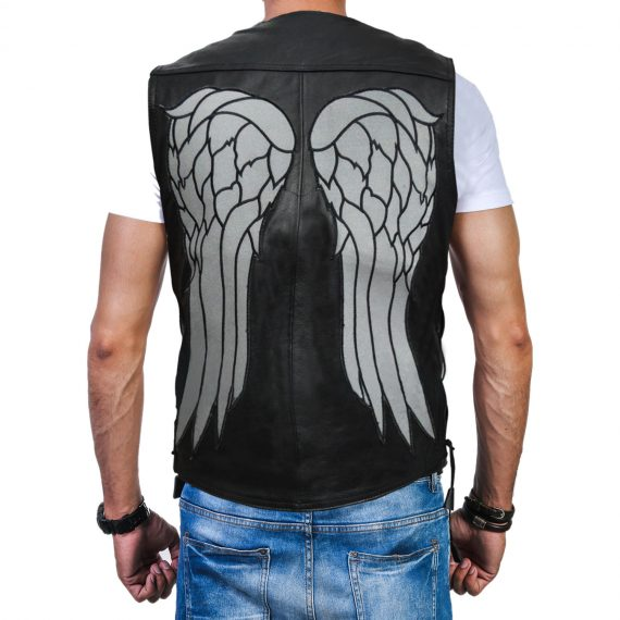 The Walking Dead Daryl Dixon Leather Vest