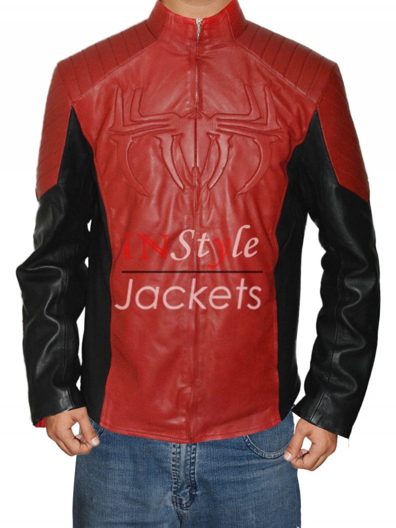 The Amazing Spiderman 2 Leather Jacket