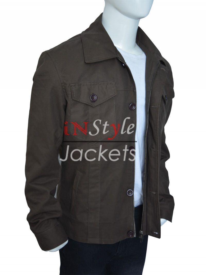Jensen Ackles Supernatural Grey Cotton Jacket