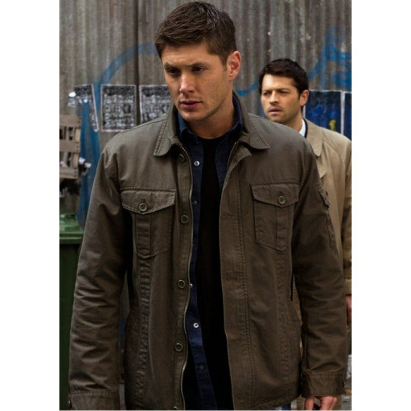 Dean Winchester Supernatural Grey Jacket
