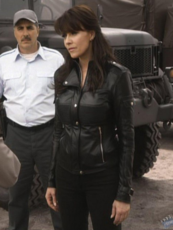 Amanda Tapping Sanctuary Helen Magnus Black Jacket