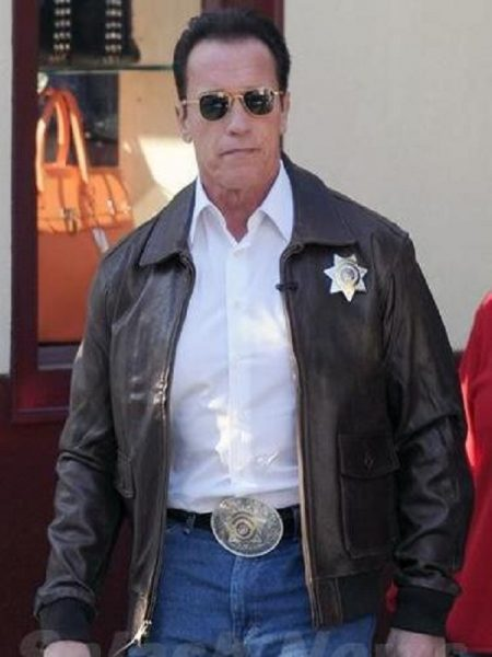 The Last Stand Arnold Schwarzenegger Leather Jacket