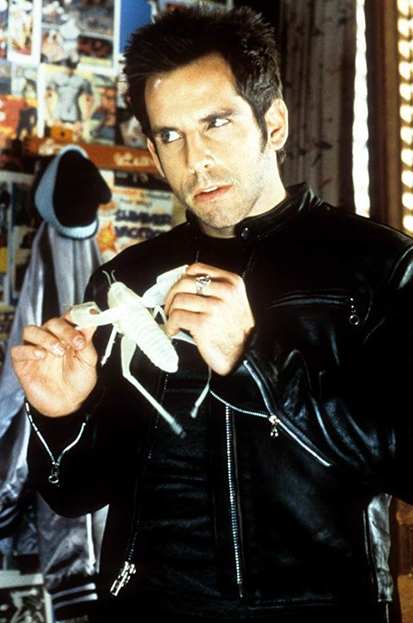 Ben Stiller Mystery Men Furious leather Jacket