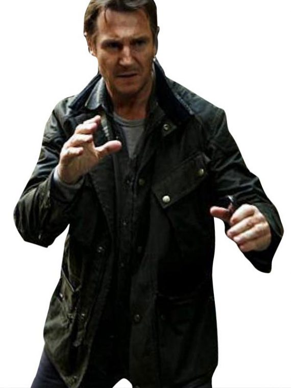 Liam Neeson Taken 3 Bryan Mills Leather Jacket